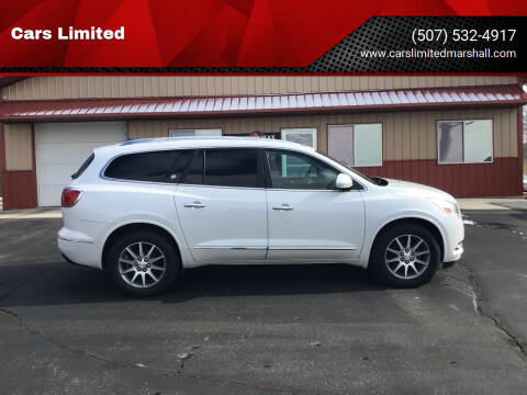 2016 Buick Enclave for sale at Cars Limited in Marshall MN