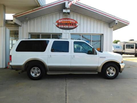 2002 Ford Excursion for sale at Motorsports Unlimited in McAlester OK