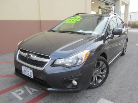 2012 Subaru Impreza for sale at PREFERRED MOTOR CARS in Covina CA