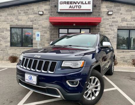 2014 Jeep Grand Cherokee for sale at GREENVILLE AUTO in Greenville WI
