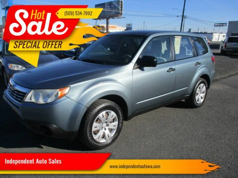 2009 Subaru Forester for sale at Independent Auto Sales #2 in Spokane WA