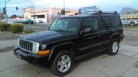 2007 Jeep Commander for sale at Larry's Auto Sales Inc. in Fresno CA