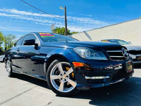 2014 Mercedes-Benz C-Class for sale at Alpha AutoSports in Roseville CA