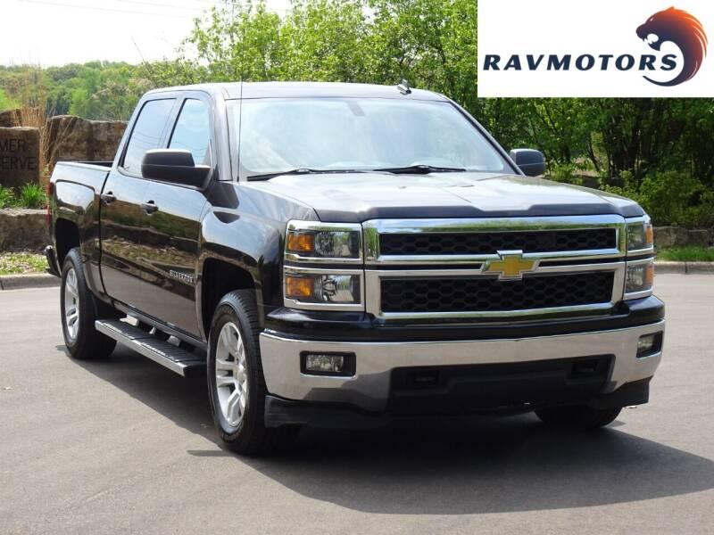 2014 Chevrolet Silverado 1500 for sale at RAVMOTORS in Burnsville MN