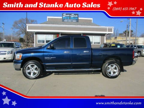 2006 Dodge Ram Pickup 1500 for sale at Smith and Stanke Auto Sales in Sturgis MI