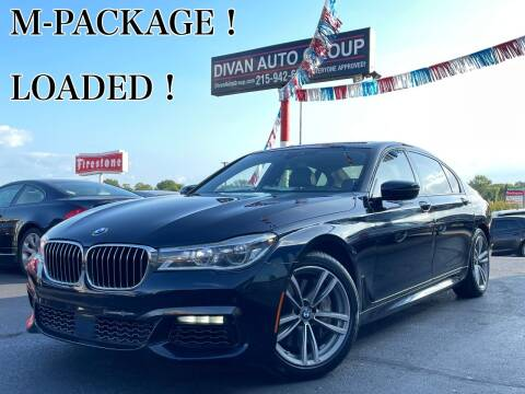 2016 BMW 7 Series for sale at Divan Auto Group in Feasterville Trevose PA