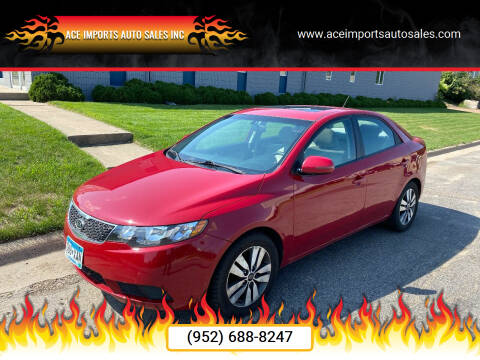 Kia Forte for sale at ACE IMPORTS AUTO SALES INC in Hopkins MN