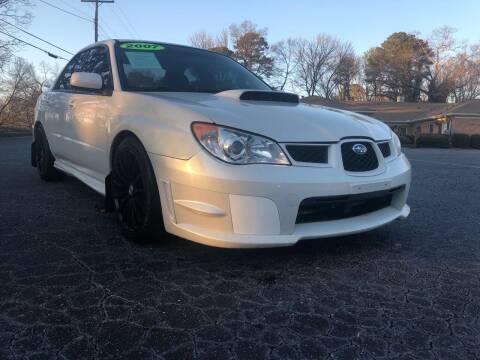 2007 Subaru Impreza for sale at Fast and Friendly Auto Sales LLC in Decatur GA