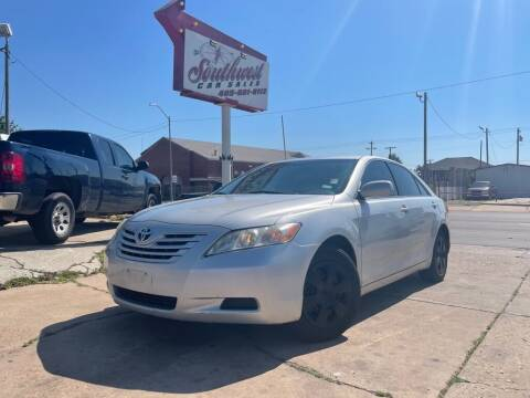 2009 Toyota Camry for sale at Southwest Car Sales in Oklahoma City OK