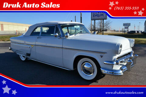 1954 Ford Sunliner for sale at Druk Auto Sales in Ramsey MN