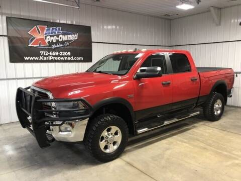 2015 RAM Ram Pickup 2500 for sale at Karl Pre-Owned in Glidden IA