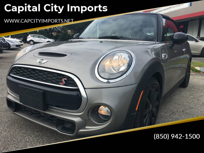 2018 MINI Convertible for sale at Capital City Imports in Tallahassee FL