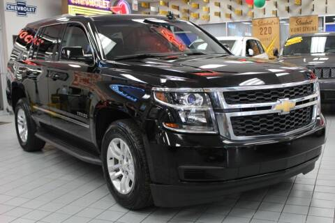 2016 Chevrolet Tahoe for sale at Windy City Motors in Chicago IL