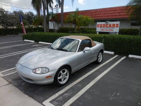 1999 Mazda MX-5 Miata for sale at Uzdcarz Inc. in Pompano Beach FL
