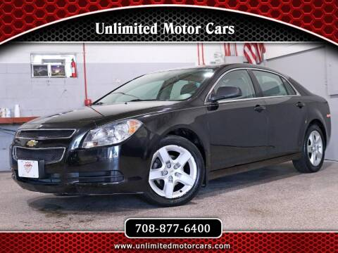 2011 Chevrolet Malibu for sale at Unlimited Motor Cars in Bridgeview IL