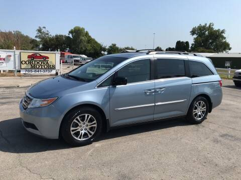 2011 Honda Odyssey for sale at Cordova Motors in Lawrence KS