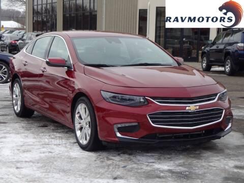 2017 Chevrolet Malibu for sale at RAVMOTORS 2 in Crystal MN