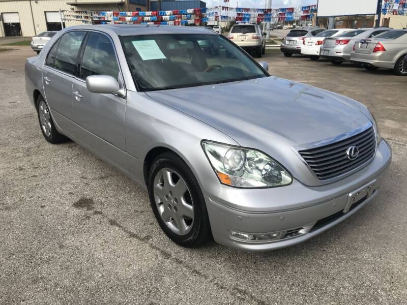 2004 Lexus LS 430 for sale at AMERICAN AUTO COMPANY in Beaumont TX