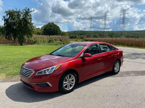 2016 Hyundai Sonata for sale at Tennessee Valley Wholesale Autos LLC in Huntsville AL