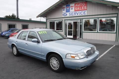 2007 Mercury Grand Marquis for sale at 777 Auto Sales and Service in Tacoma WA