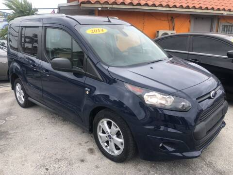 2014 Ford Transit Connect Wagon for sale at VC Auto Sales in Miami FL