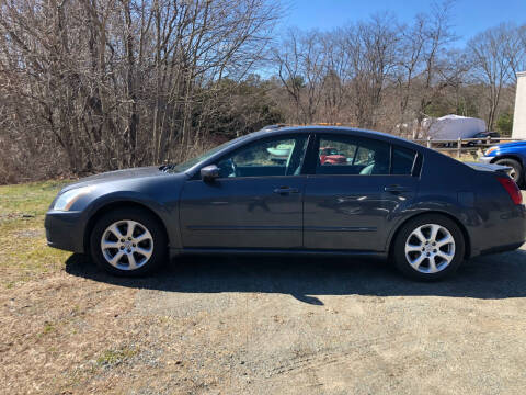 2007 Nissan Maxima for sale at Gaybrook Garage in Essex MA