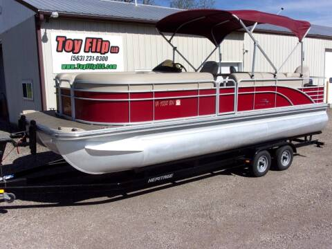 2015 Bennington 2275GS TT for sale at Toy Flip LLC in Cascade IA