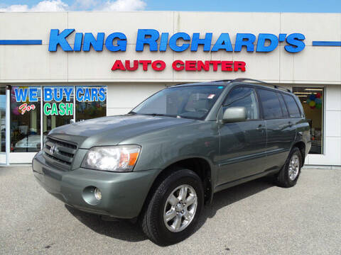 2007 Toyota Highlander for sale at KING RICHARDS AUTO CENTER in East Providence RI