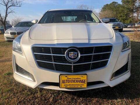 2014 Cadillac CTS for sale at Greenville Motor Company in Greenville NC