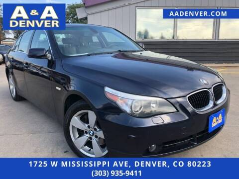 2006 BMW 5 Series for sale at A & A AUTO LLC in Denver CO