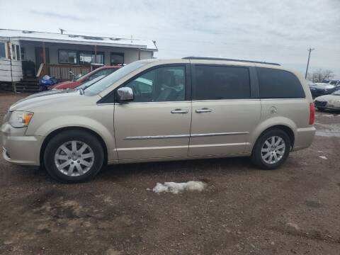 2012 Chrysler Town and Country for sale at PYRAMID MOTORS - Fountain Lot in Fountain CO