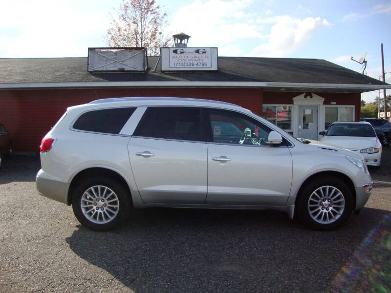 2011 Buick Enclave for sale at G and G AUTO SALES in Merrill WI