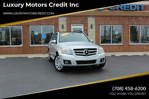 2010 Mercedes-Benz GLK for sale at Luxury Motors Credit Inc in Bridgeview IL