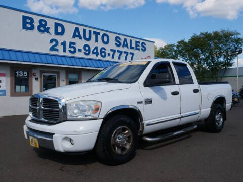 2007 Dodge Ram Pickup 2500 for sale at B & D Auto Sales Inc. in Fairless Hills PA