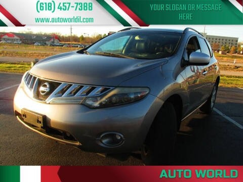 2009 Nissan Murano for sale at Auto World in Carbondale IL