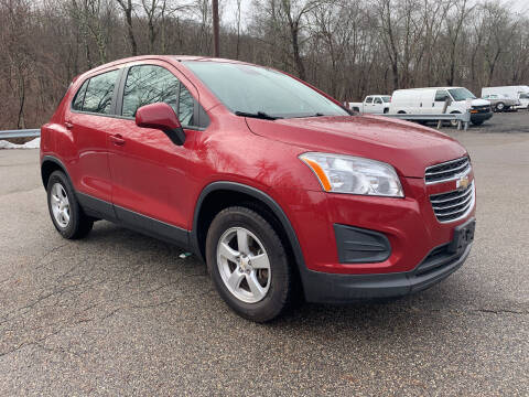 2015 Chevrolet Trax for sale at George Strus Motors Inc. in Newfoundland NJ