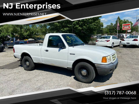 2003 Ford Ranger for sale at NJ Enterprises in Indianapolis IN