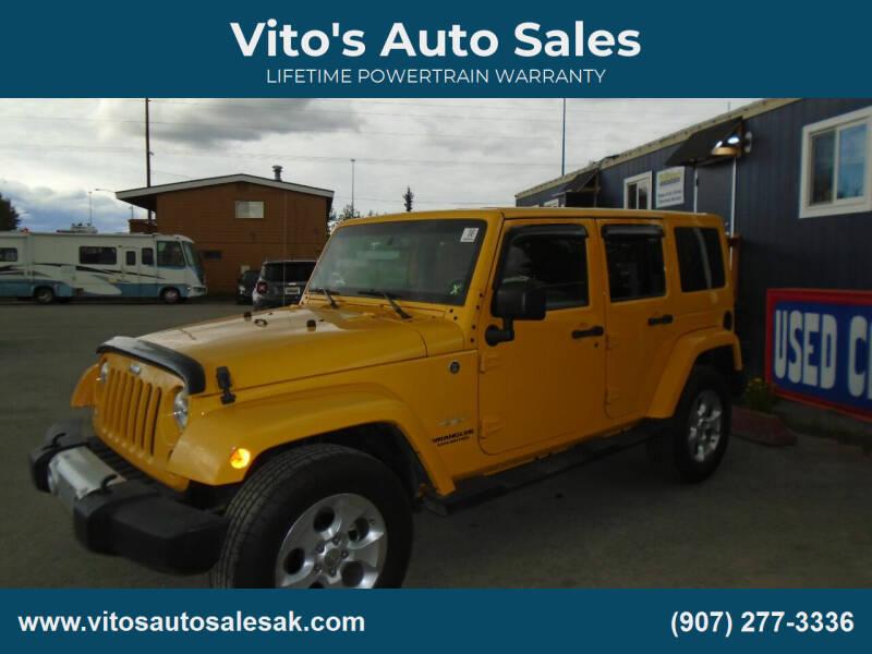 2015 Jeep Wrangler Unlimited for sale at Vito's Auto Sales in Anchorage AK