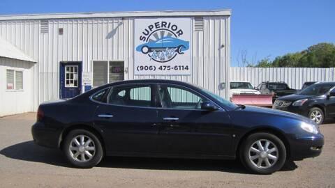 2007 Buick LaCrosse for sale at Superior Auto of Negaunee in Negaunee MI