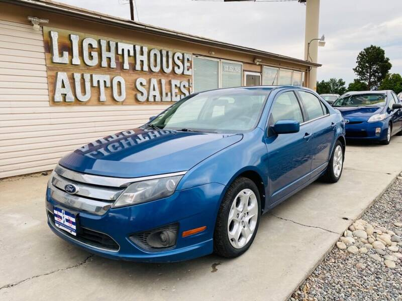 2010 Ford Fusion for sale at Lighthouse Auto Sales LLC in Grand Junction CO