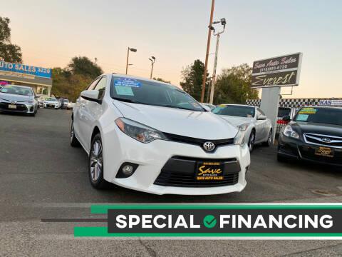 2015 Toyota Corolla for sale at Save Auto Sales in Sacramento CA
