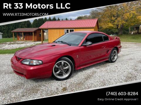 1996 Ford Mustang SVT Cobra for sale at Rt 33 Motors LLC in Rockbridge OH