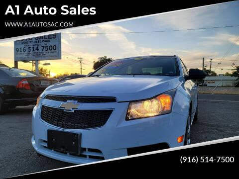 2013 Chevrolet Cruze for sale at A1 Auto Sales in Sacramento CA