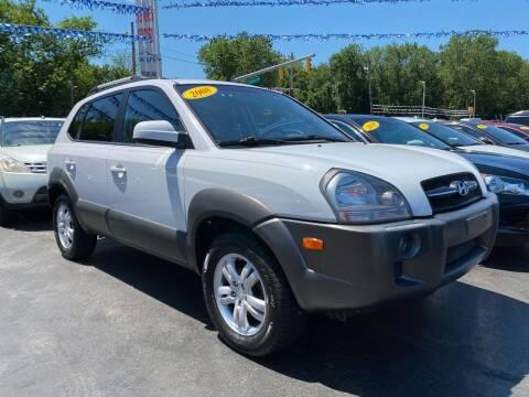2008 Hyundai Tucson for sale at WOLF'S ELITE AUTOS in Wilmington DE