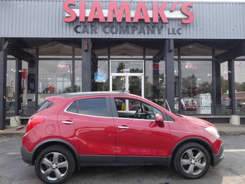 2013 Buick Encore for sale at Siamak's Car Company llc in Salem OR