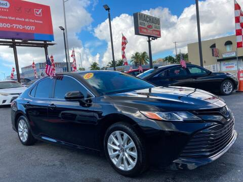 2018 Toyota Camry for sale at MACHADO AUTO SALES in Miami FL