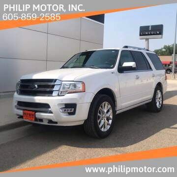 2016 Ford Expedition for sale at Philip Motor Inc in Philip SD