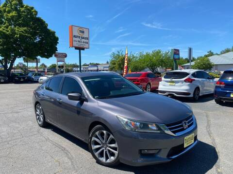 2015 Honda Accord for sale at TDI AUTO SALES in Boise ID