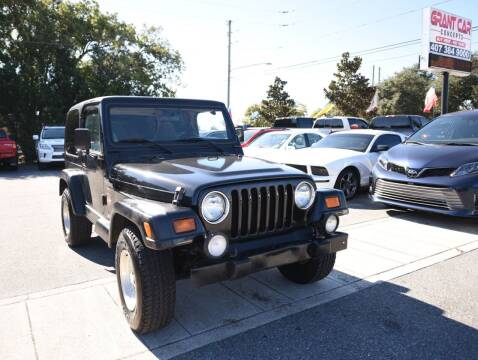 1998 Jeep Wrangler for sale at Grant Car Concepts in Orlando FL