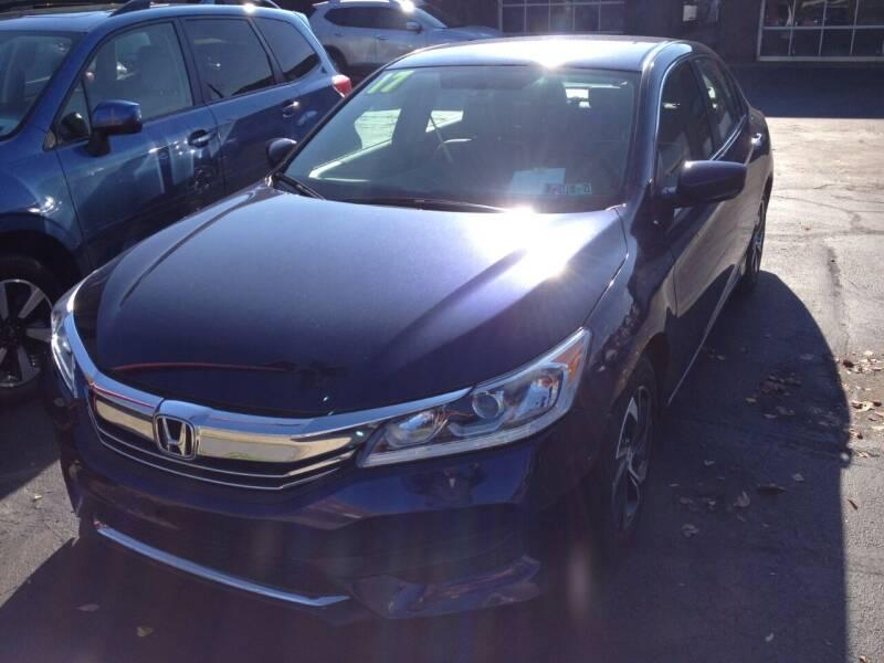 2017 Honda Accord for sale at Maffei Auto Sales INC. in Kingston PA